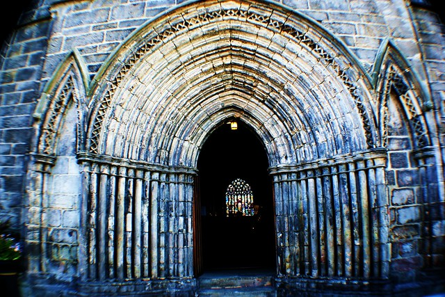 Western Entrance to Paisley Abbey, Scotland