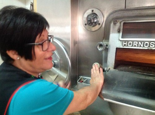 Carmen nos muestra su horno giratorio