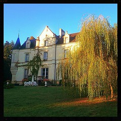 Chateau in Loire Valley where we are staying. #Chateau #France - Photo of Bridoré