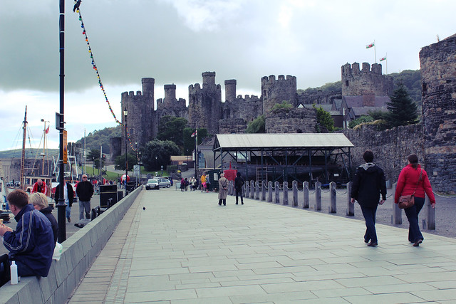 conwy seaside