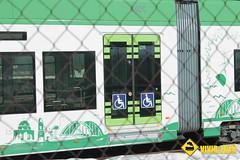 Puerta minusválidos tranvía Cádiz
