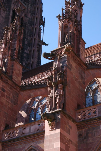 Carvings on Freiburg Münster