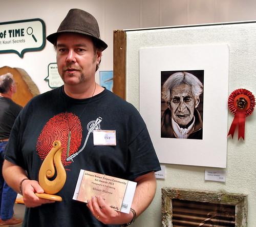 Gilmore Brown (Matakohe Kauri museum) Art Awards 1st place