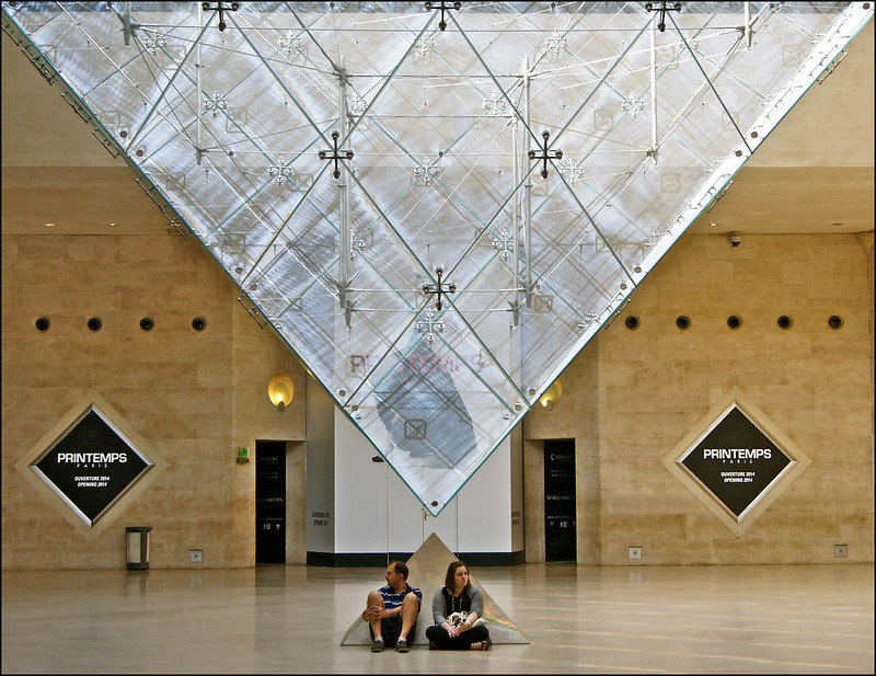 la pyramide inversée ..... carousel du louvre