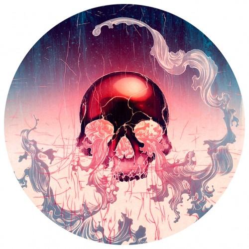 Wave (Skull). James Jean.