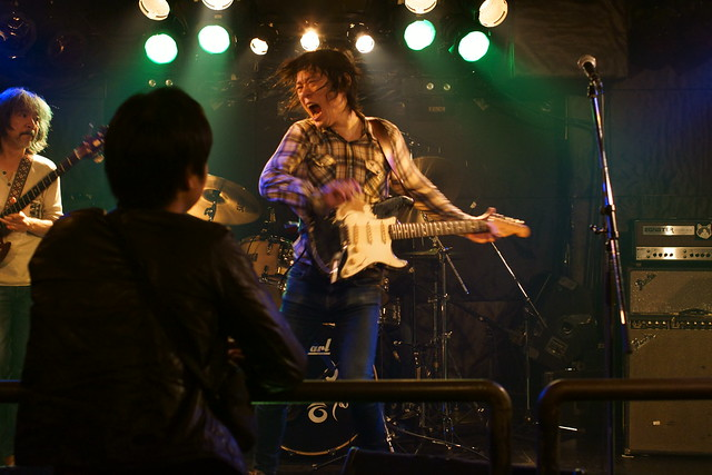 原マサシ Blues Rock Trio live at Outbreak, Tokyo, 23 Oct 2013. 340