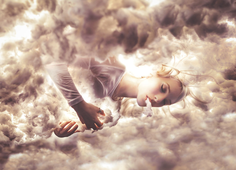 the girl who abandoned earth to rest among the clouds