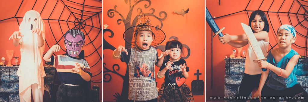 Malaysian Kids and Halloween Series