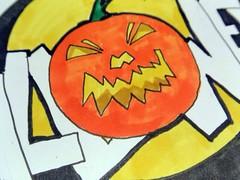 Halloween Kürbis (Jack O'Lantern)