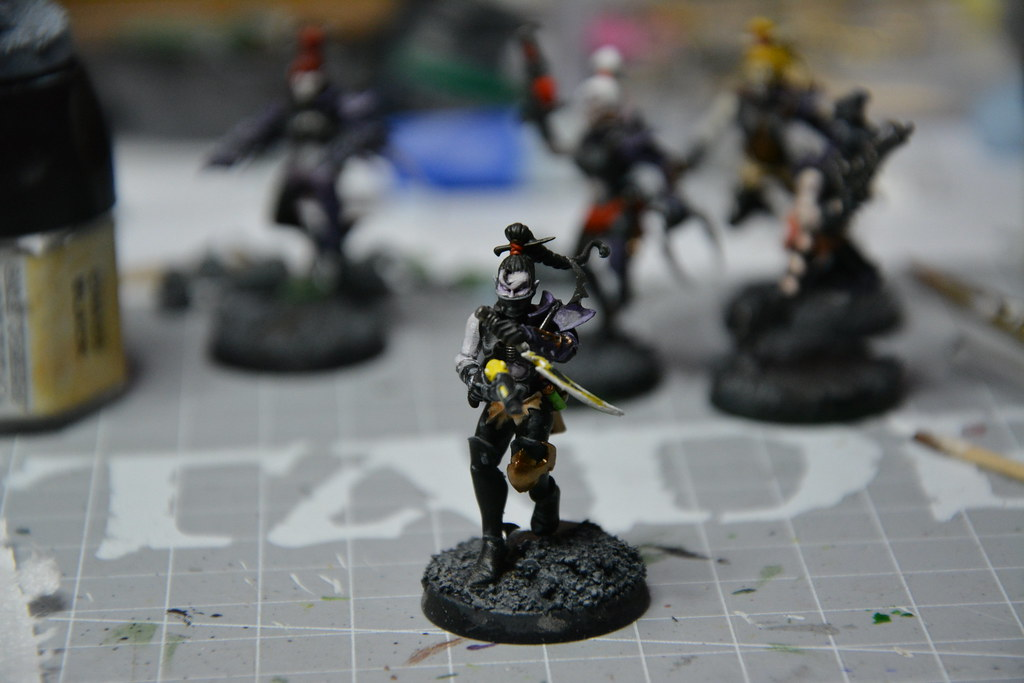 Cult of Bladed Violet & Kabal of Violet Storm - DE witches conversion! 10593737865_687145e6c0_b