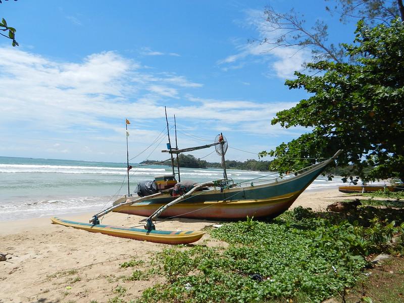 Пляжи юга Шри Ланки