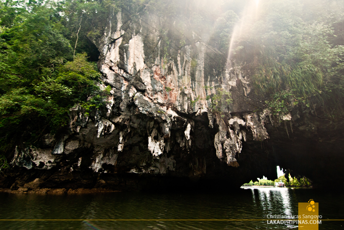 Cave Portal at Thailand's Phang Nga Bay