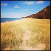 Beautiful Bonus Beach Day #saugatuck #puremichigan #bigred