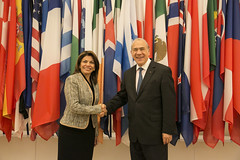 Bilateral meeting with Laura Chinchilla, President of Costa Rica, at OECD