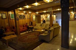 Lobby del Akhavan Hotel (Kerman)