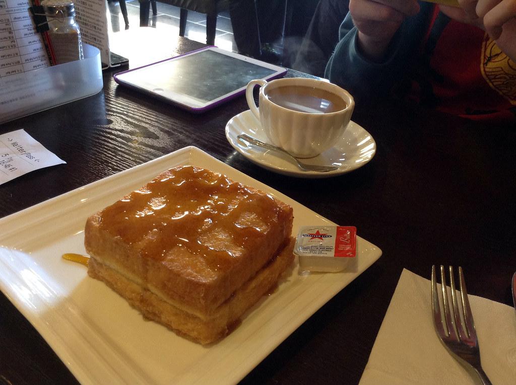 French Toast at the New Hong Kong Cafe