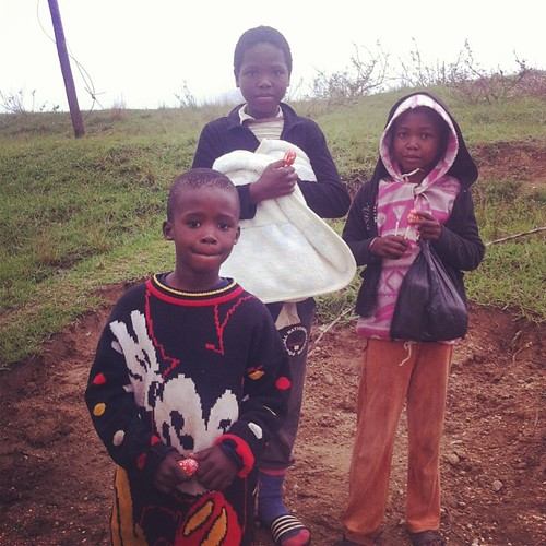 Sweets for the sweets. #swazikids #bundledup #cooltemps #rainyseason #cloudyskies #rainyday #swazisummer #swaziland #swazilandtripnovember2013