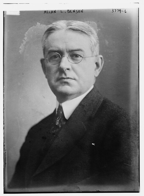 Header of Allan L. Benson
