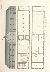 """British Library digitised image from page 199 of """"The New Builder's Magazine, and Complete Architectural Library, for architects, surveyors, carpenters, etc"""""""
