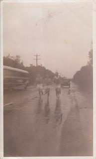 Possibly the Victorian Professional Marathon, Frankston to Albert Park (4 August, 1951)