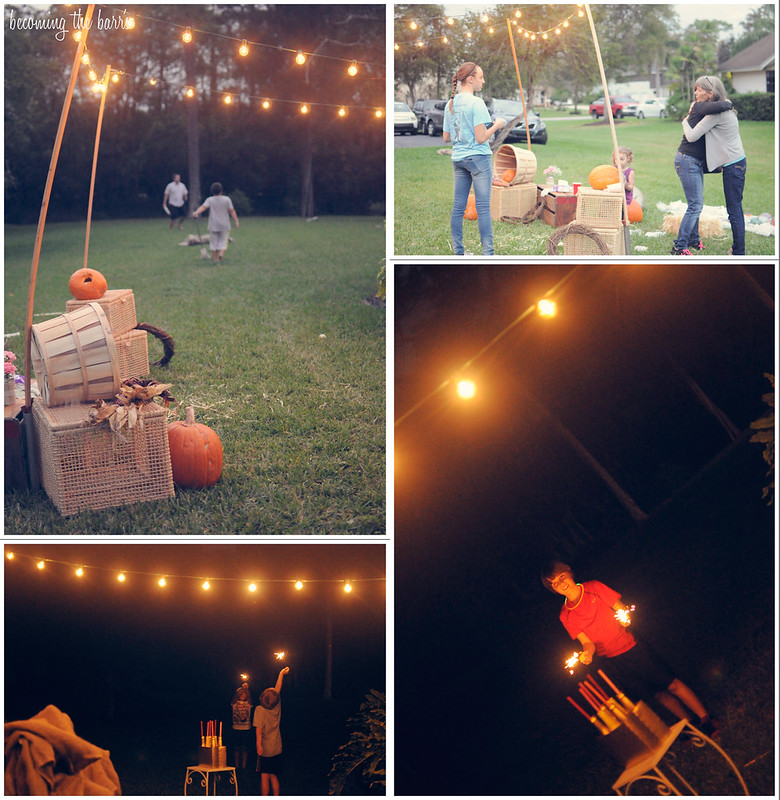 diy pumpkin patch birthday party