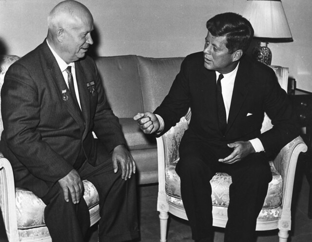 Khrushchev and Kennedy, Vienna 1961