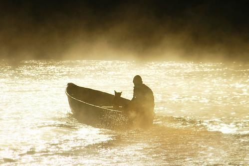 Navigare su un fiume d'oro. by Claudio61 una foto ferma un ricordo nel tempo
