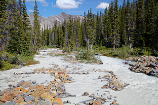 Hilda Creek with Rock-Flour
