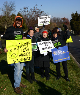 2013 Black Friday Walmart Protest 7