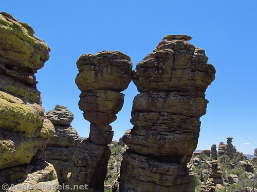 Kissing Rocks, Heart of Rocks Loop Trail, Chiricahua National Monument, Arizona