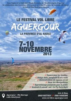 festival de parapent Aguergour