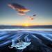 Glacier Lagoon Beach by Snorri Gunnarsson