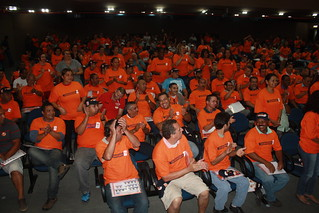 ... candidatura esta aprovada por unanimidade pelos delegados e ativistas presentes
