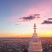 sunset from the top of Montmartre by Skatry