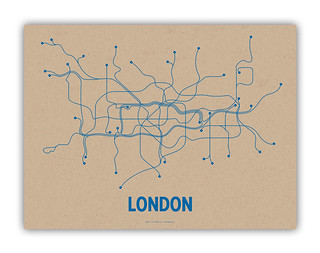 London transit map