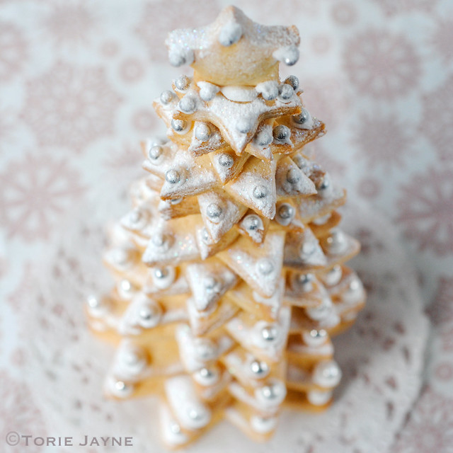 Gluten free lemon sugar cookie tree