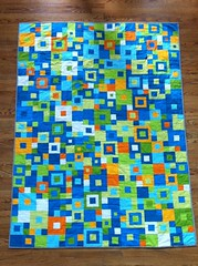 Quilt for my son - finished!