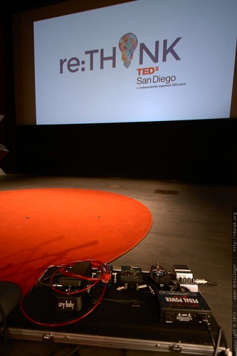 Cellist Tina Guo's Effects Pedalboard   TEDxSanDiego 2013