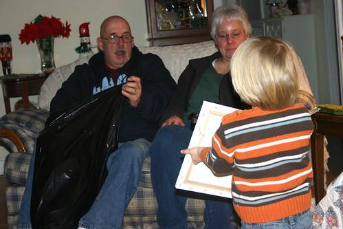 Gramma Robin and Grampa