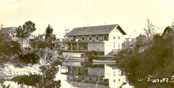 Koreshan Unity general store on the Estero River