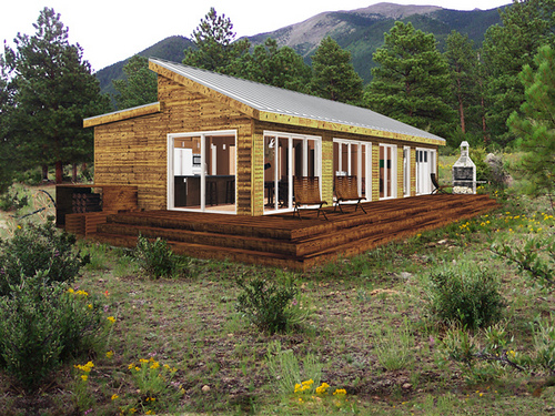 Country Picnic: Prefab Homes (3/9/12)