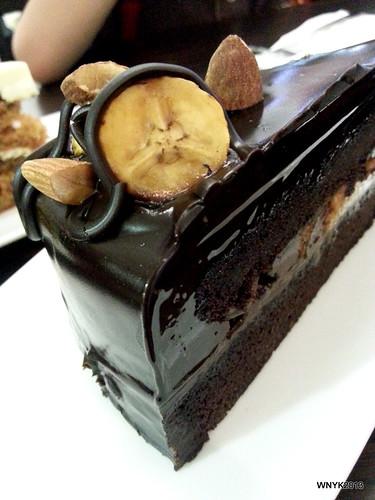 Banana Choc Cake