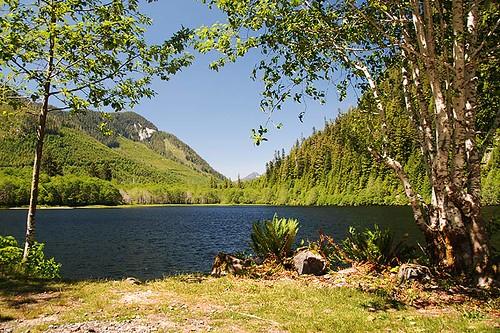 Malaspina Lake, Tahsis, North Vancouver Island, British Columbia, Canada