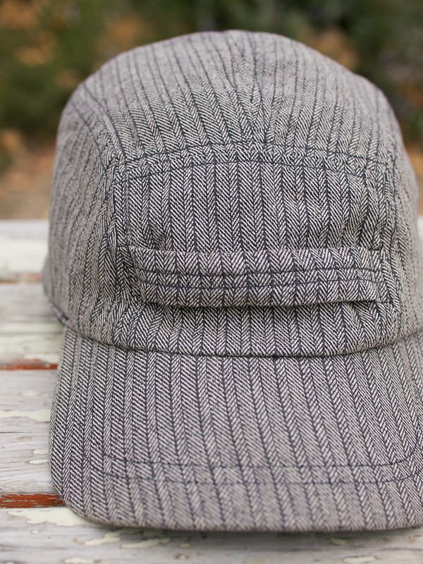 RRL / Herringbone Wool-Lined Cap