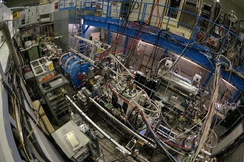 The ASACUSA experiment at CERN (Image: Yasunori Yamakazi )