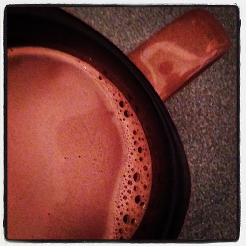 #fmsphotoaday January 22 - Nice! Hot chocolate after a long drive home in the cold and snow.