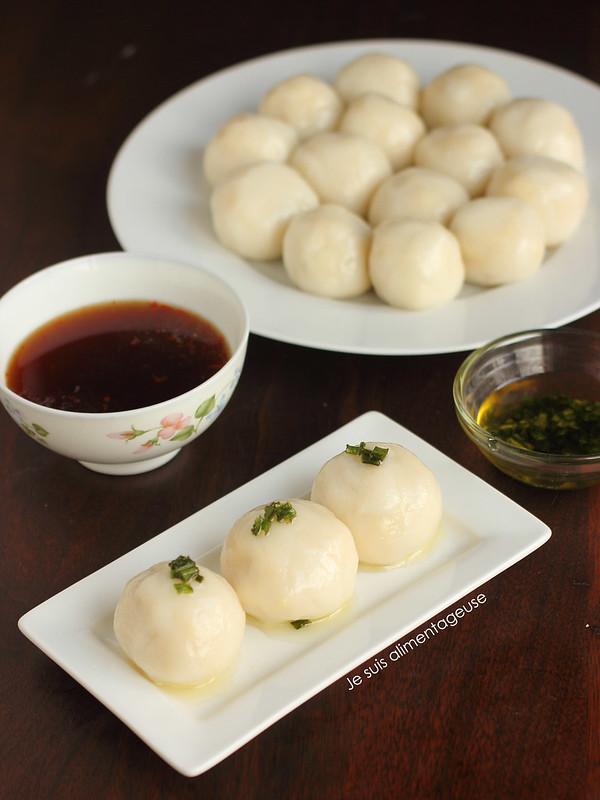 Bánh Ít Trần - Vietnamese Mung Bean Dumplings #newyear #vietnamese #vegan #glutenfree