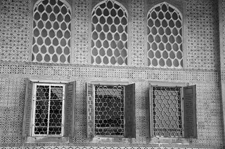 Windows at Topkapi Palace, Istanbul