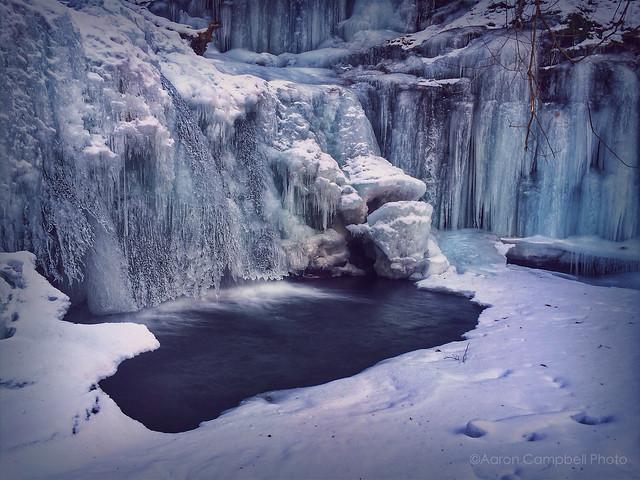 Wyandot Falls, 2014.02.01