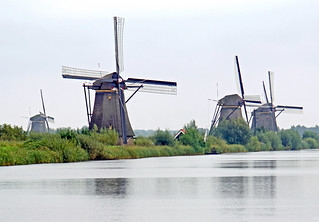 Netherlands-4721B - Ground Sail Windmills